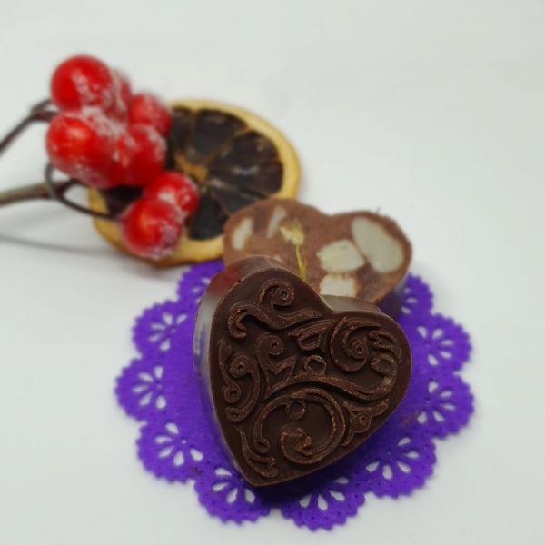 Ciocolata cu MIGDALE pentru Mos Nicolae