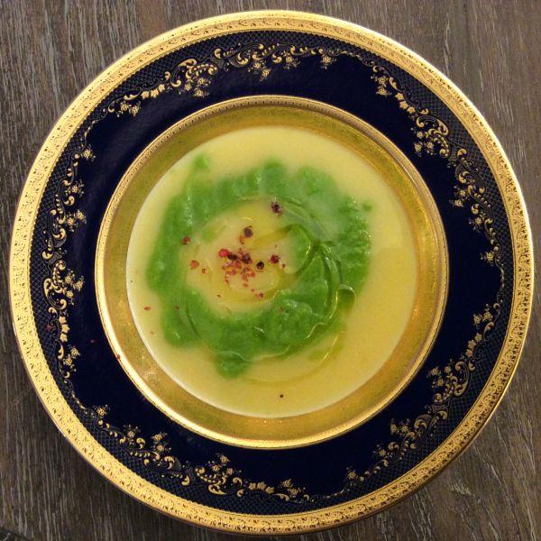 Supă cremă cu leurdă
