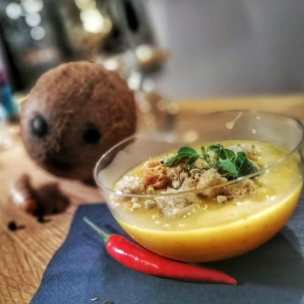 Supă cremă de DOVLEAC cu USTUROI - MULT!!!!