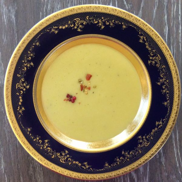 Supă cremă de praz cu cartof
