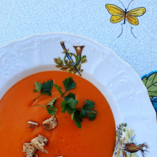 Supă cremă de roșii- de iarnă