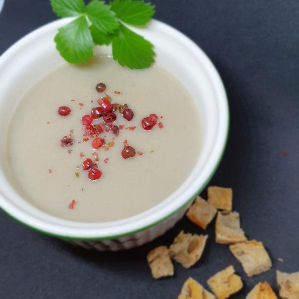 Supa crema din Ciuperci si Quinoa