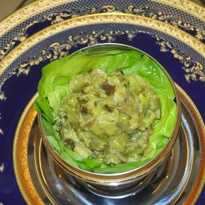 Ciuperci cu maioneza raw