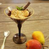 Mousse de amaranth cu pere
