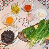 Orez negru cu leurdă și spanac ( video)