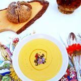 Supă cremă de dovleac (vegană)