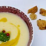 Supă cremă de PASTARNAC si Quinoa